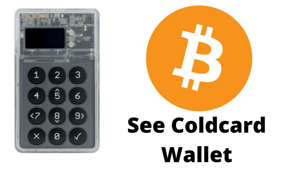 Coldcard wallet