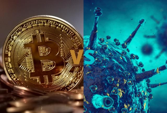 Covid-19 vs Bitcoin