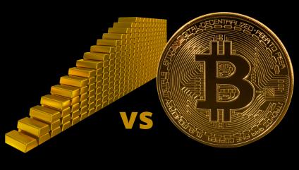bitcoin vs gold