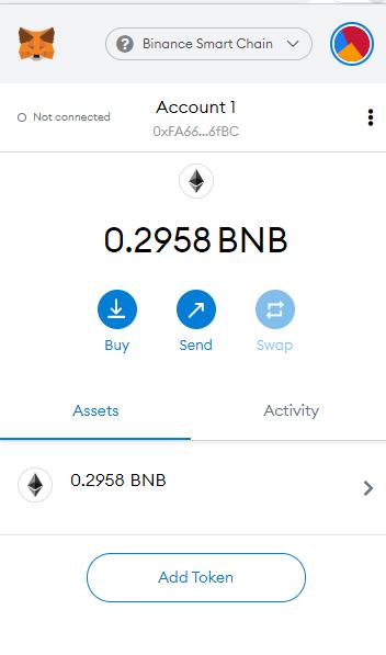 transaction received in MetaMask
