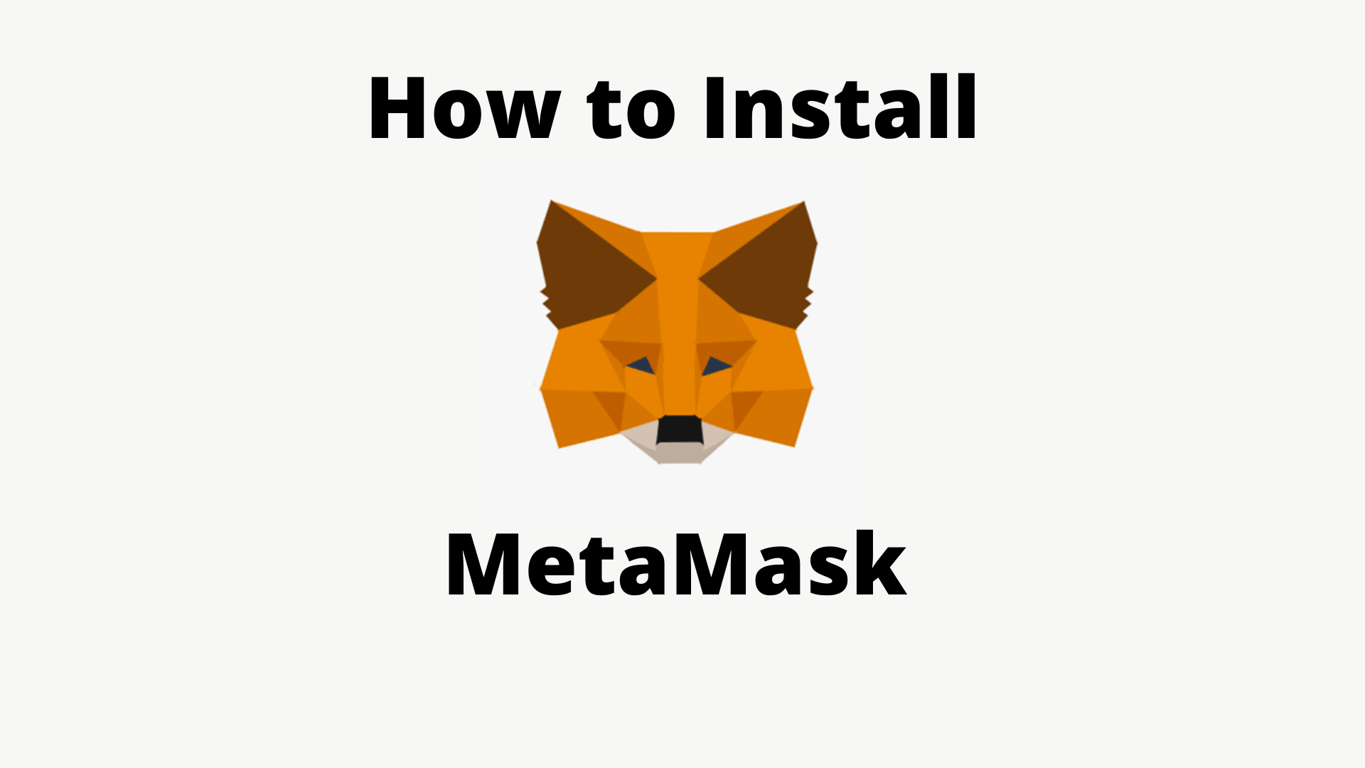 How to Install and Make Transactions with MetaMask Wallet