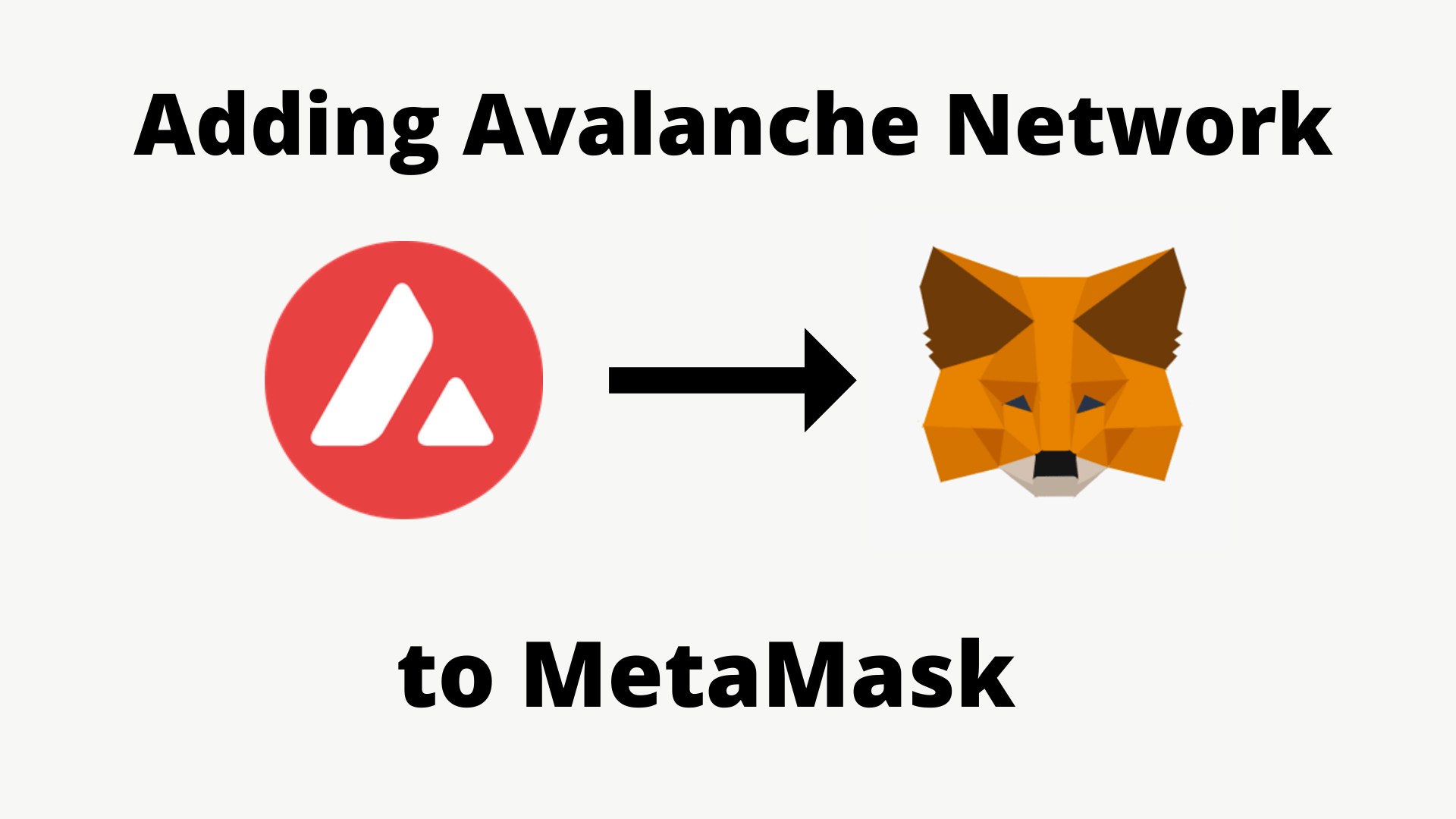 How to Add Avalanche Network to MetaMask