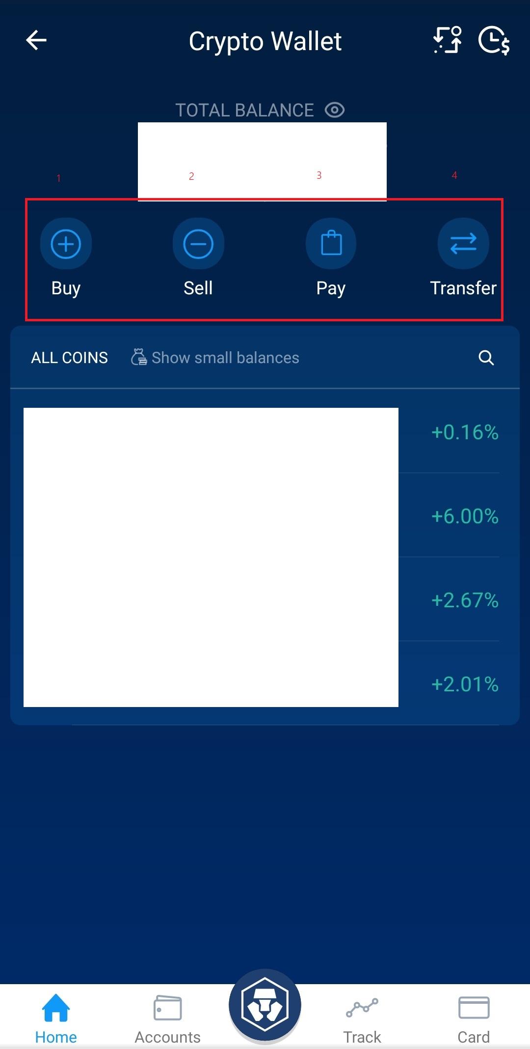 Crypto wallet crypto.com