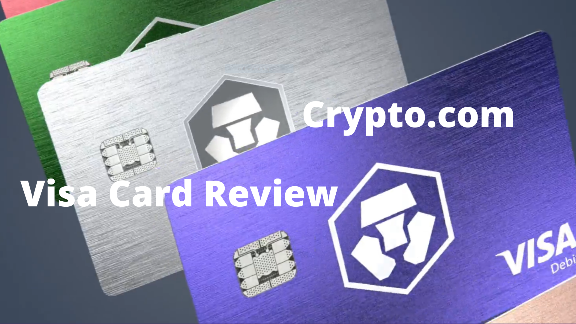 Crypto.com Visa Card Review | Crypto-Explained