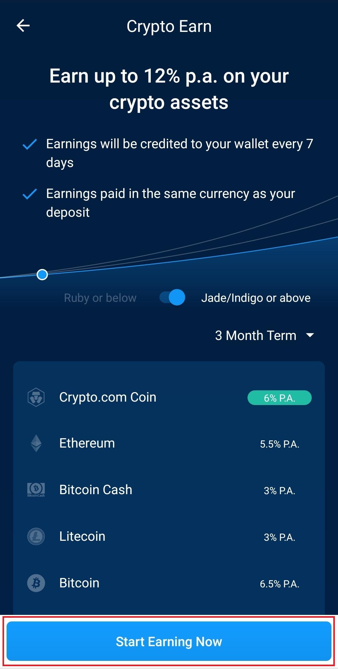 Earn crypto.com